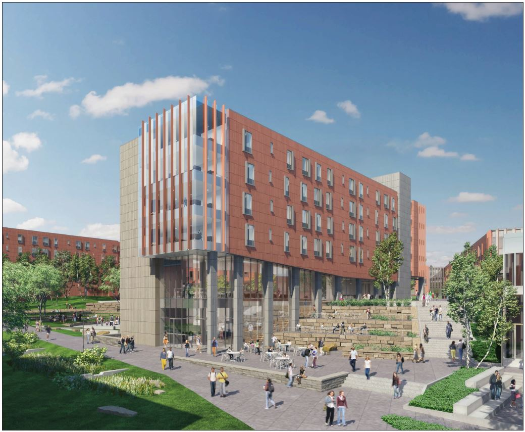 First-year student site rendering